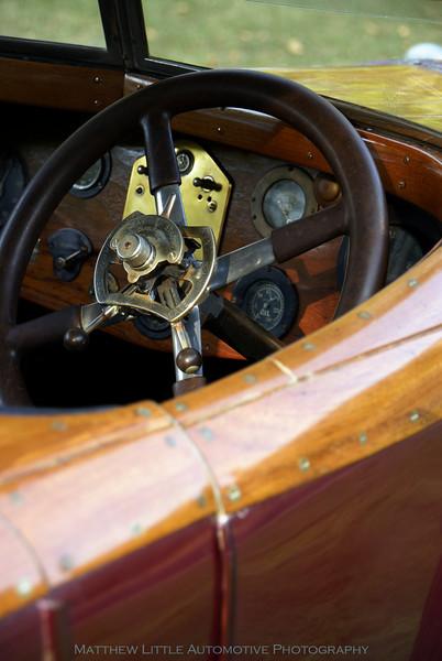 1923 Rolls-Royce Silver Ghost tourer interior