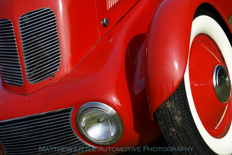 "1934 Ford Model 40 Speedster detail<br /> This speedster is the second one E.T. ""Bob"" Gregorie designed for Edsel Ford"