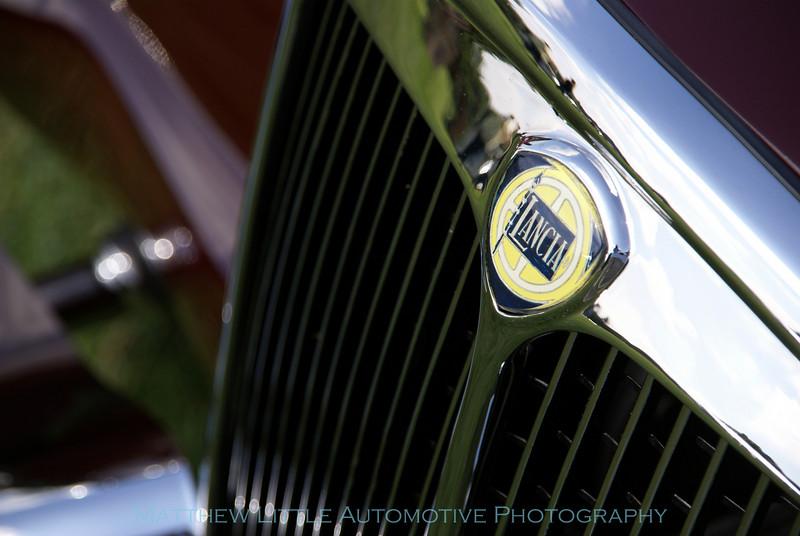 1955 Lancia Aurelia Spider detail