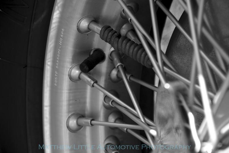 1939 Alfa Romeo Tipo 256 wheel balance detail