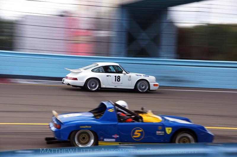 1992 Porsche 911 Carrera and 1970 Porsche 914/6