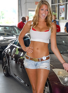 International Bikini Team - Summer Heat Car Show: Lustine Toyota & Scion 2014 - Woodbridge, Virginia