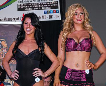 International Bikini Team - Timonium Motorcycle Show 2014 - Timonium, Maryland