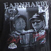 photo of a T-shirt showing the Earnhardts