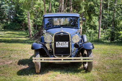 1931 Ford Model A Truck - Vancouver Island, British Columbia, Canada