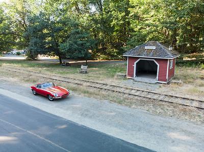 1967 Jaguar E-Type Convertible - Cowichan Valley, Vancouver Island, British Columbia, Canada