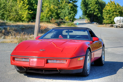 """1987 Chevrolet Corvette Roadster Visit our blog """"The Toad's Chariot"""" for the story behind the photos."""