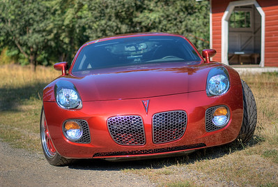 """2009 Pontiac Solstice GXP Coupe - Vancouver Island, BC, Canada Visit our blog """"Something Wicked This Way Comes"""" for the story behind the photos."""
