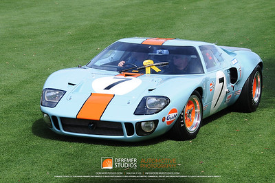 """The Ford Motor Company/E. T. """"Bob"""" Gregorie Trophy For Enduring Design Excellence & The Hagerty's Kids Choice Award  1968 Ford GT40 Harry Yeaggy Cincinnati, OH"""