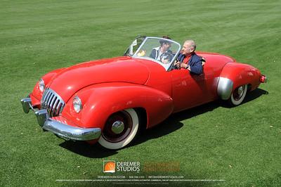 The Bridgestone Tire Award For The Most Elegant Sports Car 1947 Kurtis-Omohundro Geoffrey R.  Hacker Tampa, FL
