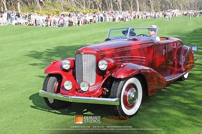 Best In Class-Cars Of Bohman & Schwartz 1935 Duesenberg SJ 572/2596  Sam and Emily Mann Englewood, NJ