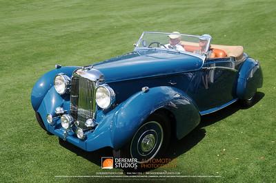 Best In Class-European Classic Pre-War (1936 -1939) 1938 Lagonda LG6 Rapide Drop Head Coupe Skip and Judy Barber Sharon, CT