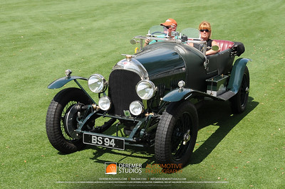 The Ultimate Motorworks Award For The Most Sporting Bentley 1924 Bentley 3/4.5 Litre Lee and Pamela Wolff Chagrin Falls, OH