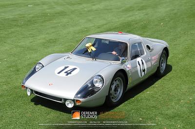 Joe Pendergast Trophy For The Most Outstanding Race Car 1964 Porsche 904 Michael Robottom St. John, Jersey, Channel Islands