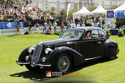 Best In Class-Sports Cars (Pre-War) 1938 Alfa Romeo 6C 2300 Oscar Davis Elizabeth, NJ