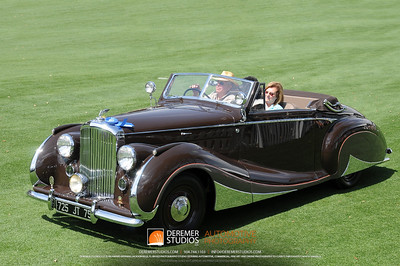 Best In Class-European Classic Post War 1947 Bentley Franay  Marlene and Gene Epstein - GEM Collection Wrightstown, PA