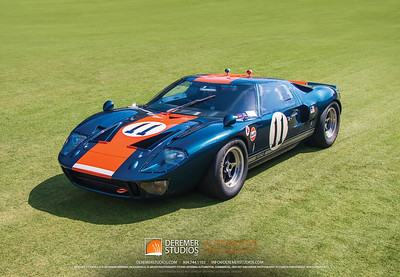 BiC - Cars of Ickx - 1966 Ford GT40 #1049 - 0393