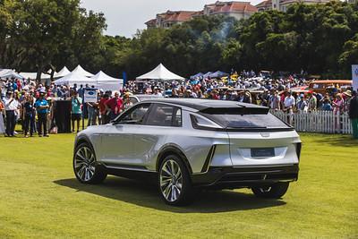 2021 Amelia Concours - Electric Car Parade 0012A