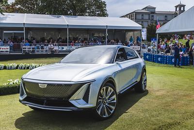 2021 Amelia Concours - Electric Car Parade 0010A