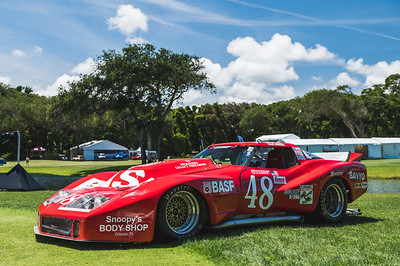 2021 Amelia Concours - Honoree Lyn St James 0010A