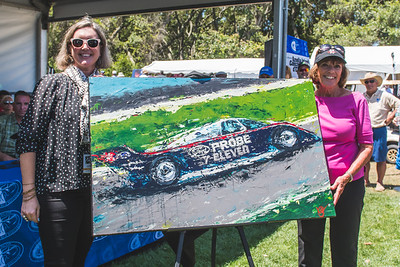 2021 Amelia Concours - Honoree Lyn St James 0005A