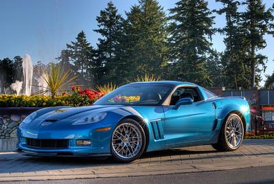 """""""Blue Jet"""" - 2011 Corvette Grand Sport Coupe Visit our blog """"Blue Jet: Corvette Grand Sport"""" for the story behind the photos."""