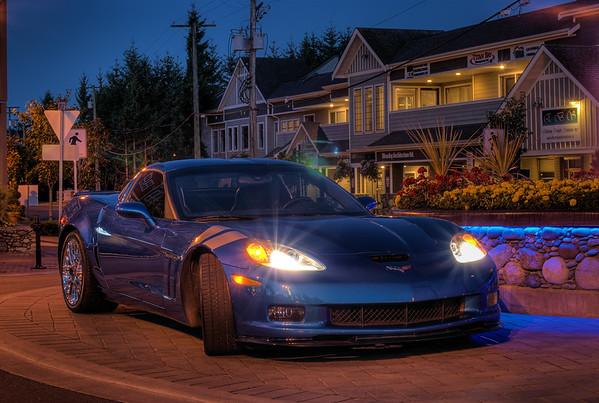 Blue Jet - 2011 Corvette Grand Sport