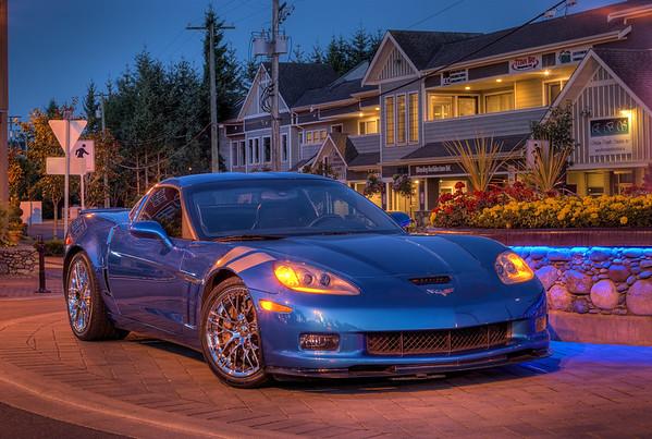 """Blue Jet"" - 2011 Corvette Grand Sport Coupe"