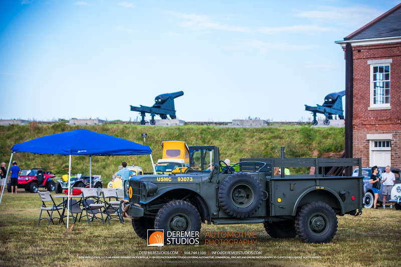 Fort Clinch Car Show Deremer Studios LLC - Amelia car show