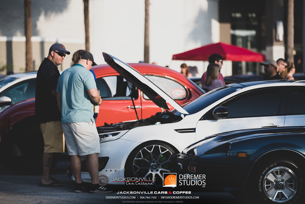 August 2019 Jacksonville Cars and Coffee - The Avenues Mall