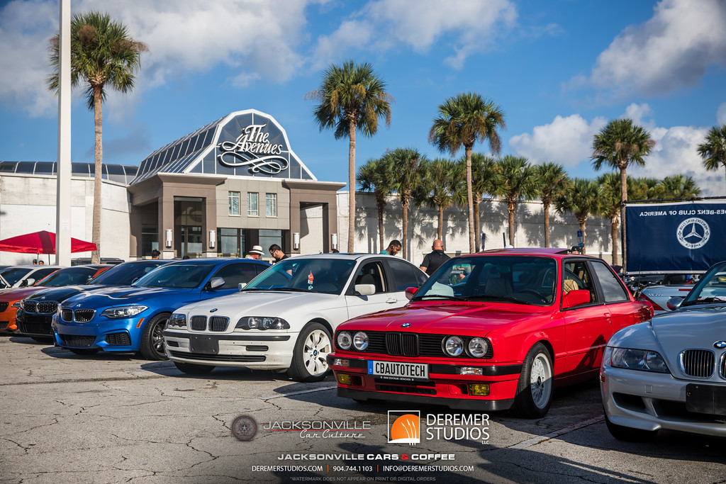 September Jacksonville Car Culture Cars and Coffee - BMW
