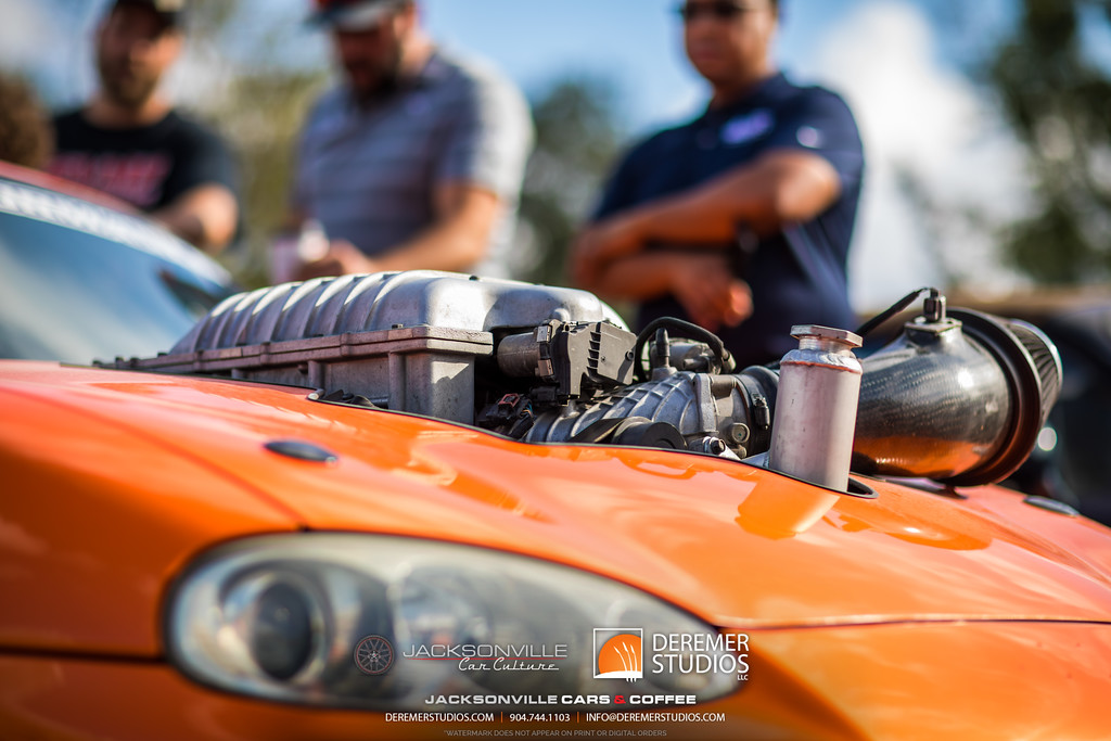 September Jacksonville Car Culture Cars and Coffee - Hellcat Miata