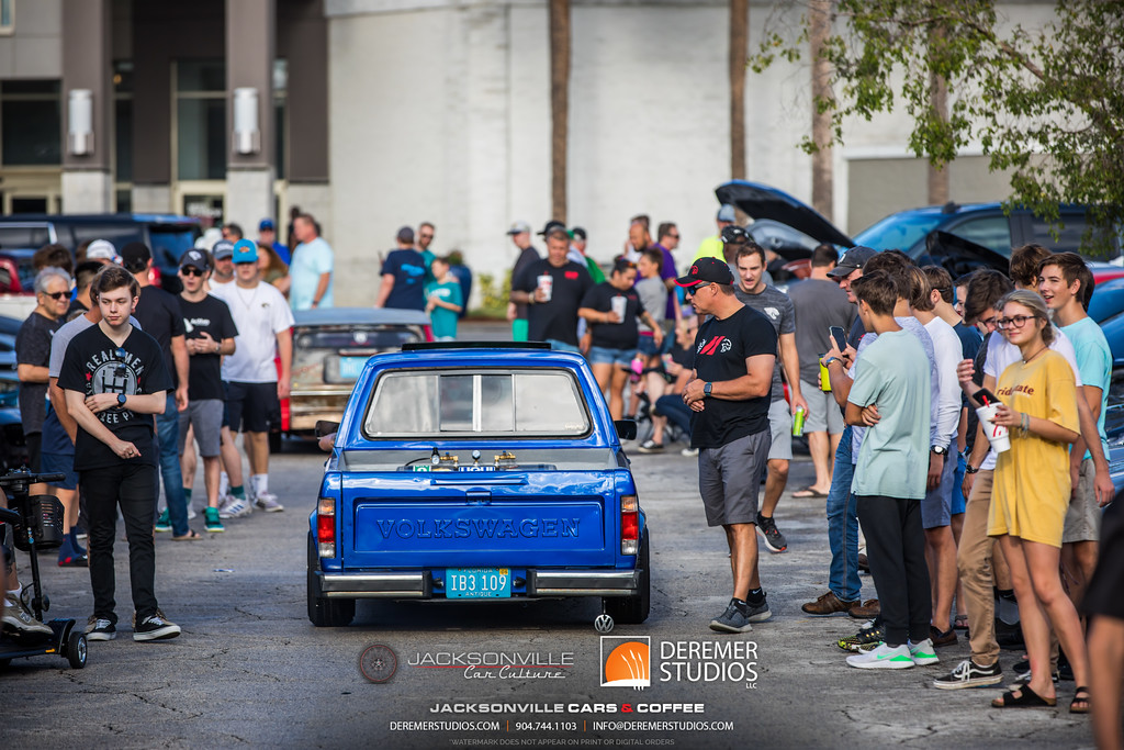 September Jacksonville Car Culture Cars and Coffee - VW Pickup