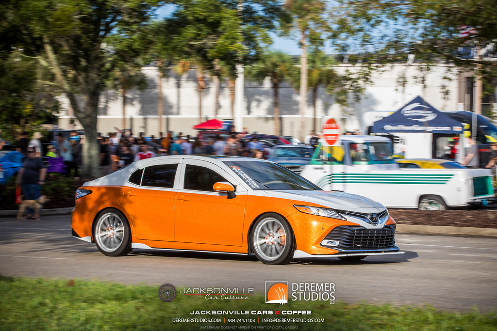 September Jacksonville Car Culture Cars and Coffee - Toyota Camry