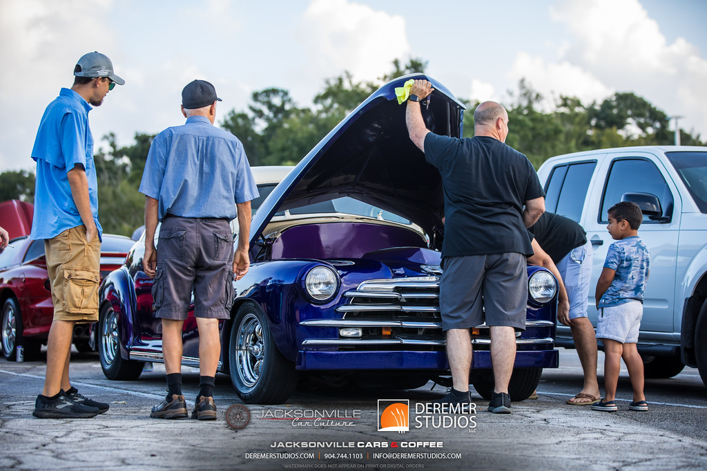 September Jacksonville Car Culture Cars and Coffee - Car Enthusiasts