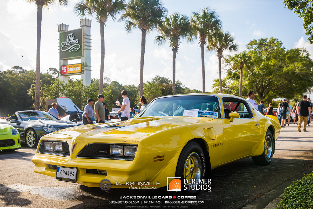 September Jacksonville Car Culture Cars and Coffee - Firebird