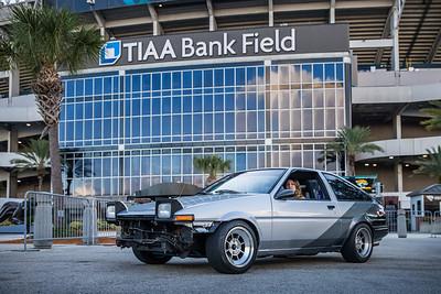 2019 Jax Cars and Coffee at TIAA Field 009 POSED - Deremer Studios LLC