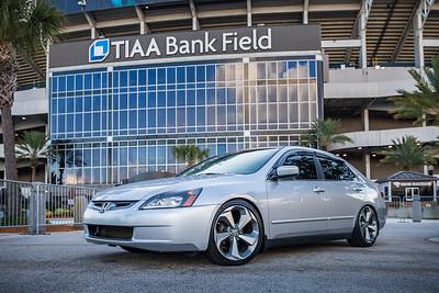 2019 Jax Cars and Coffee at TIAA Field 007 POSED - Deremer Studios LLC