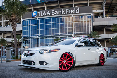 2019 Jax Cars and Coffee at TIAA Field 006 POSED - Deremer Studios LLC