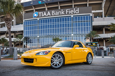 2019 Jax Cars and Coffee at TIAA Field 016 POSED - Deremer Studios LLC