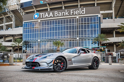 2019 Jax Cars and Coffee at TIAA Field 002 POSED - Deremer Studios LLC