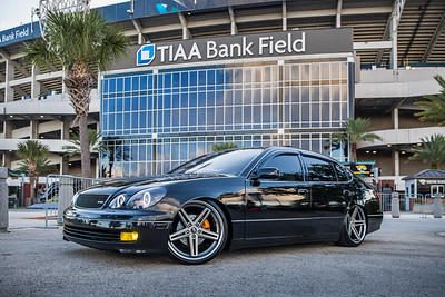 2019 Jax Cars and Coffee at TIAA Field 004 POSED - Deremer Studios LLC
