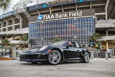 2019 Jax Cars and Coffee at TIAA Field 001 POSED - Deremer Studios LLC