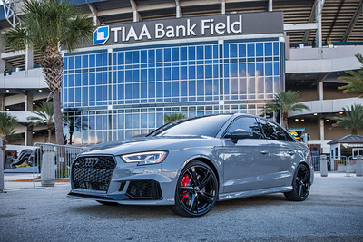2019 Jax Cars and Coffee at TIAA Field 011 POSED - Deremer Studios LLC