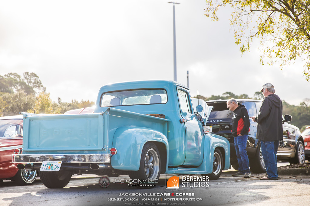 November 2019 Cars and Coffee - Ford Pickup F100