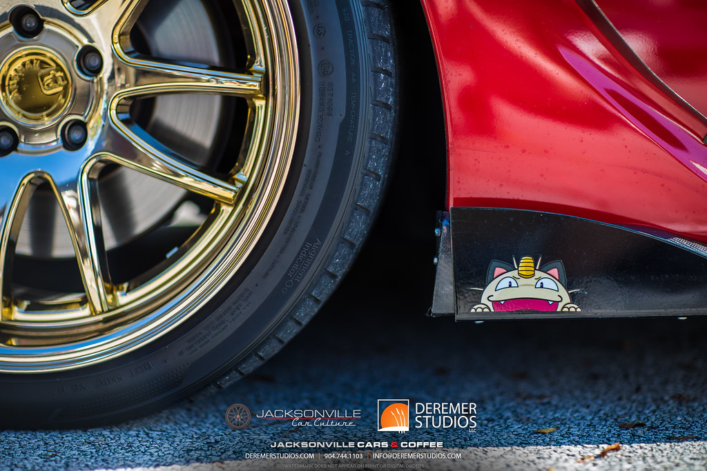November 2019 Cars and Coffee - Gold Rims Pokemon