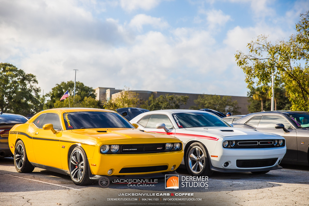 November 2019 Cars and Coffee - Dodge Challenger