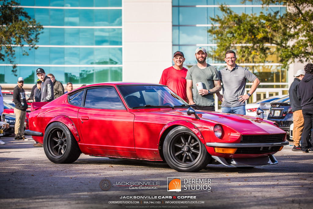 December 2019 Jacksonville Car Culture - Cars and Coffee at the Avenues - Datsun 280Z