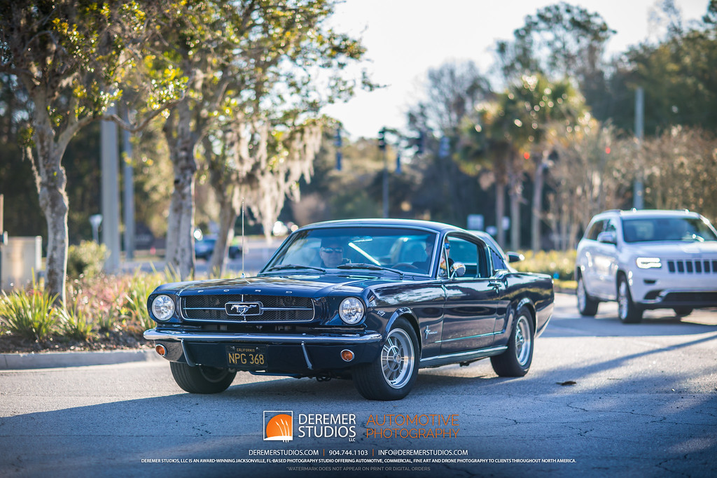 February 2020 Jacksonville Cars and Coffee at the Avenues Mall - Ford Mustang