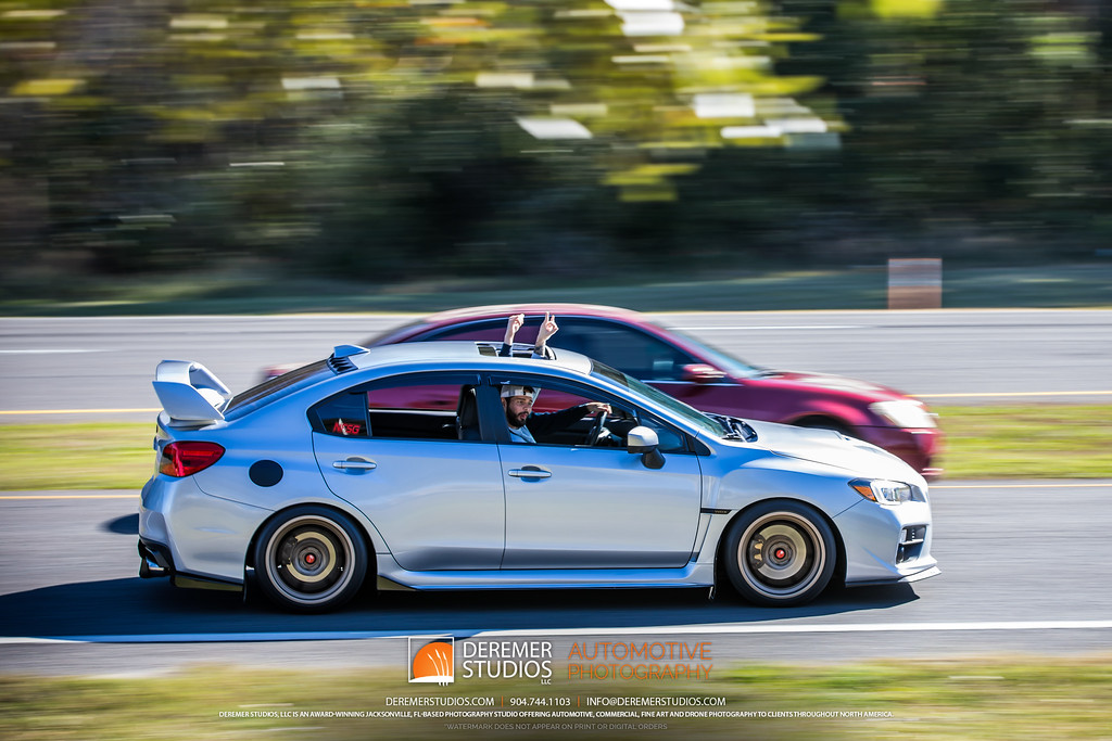 February 2020 Jacksonville Cars and Coffee at the Avenues Mall - Subaru WRX STi